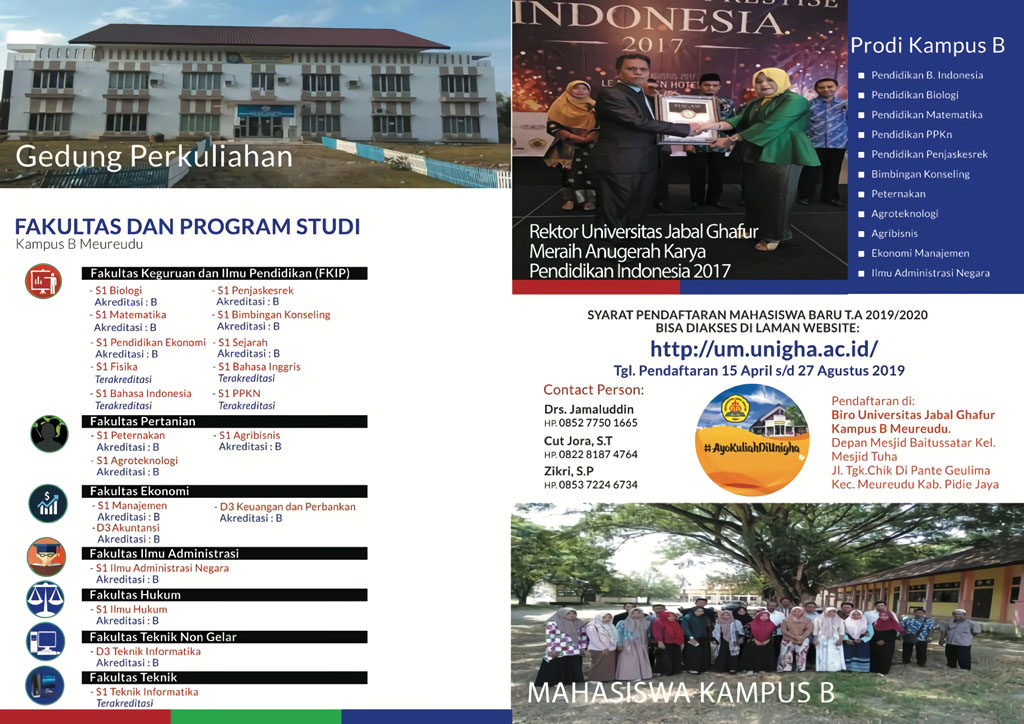 Daftar Program Studi